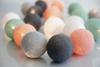 Endless Summer: Light Grey, Dark Grey, Solmon Pink, Mint & Snow White