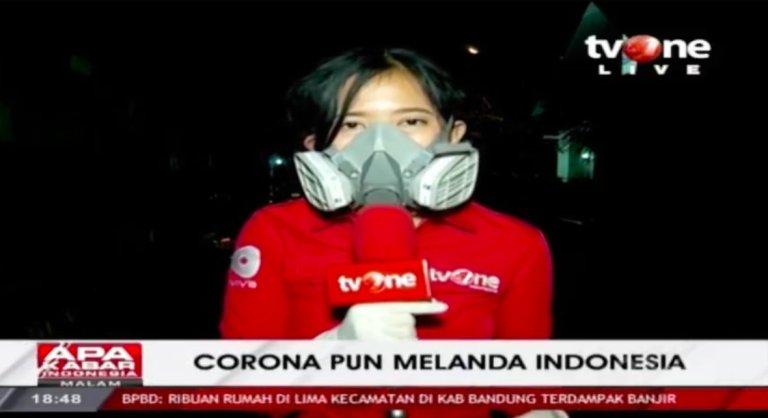 Siaran langsung TV One dari dekat kediaman kasus pertama Covid-19 di Indonesia.