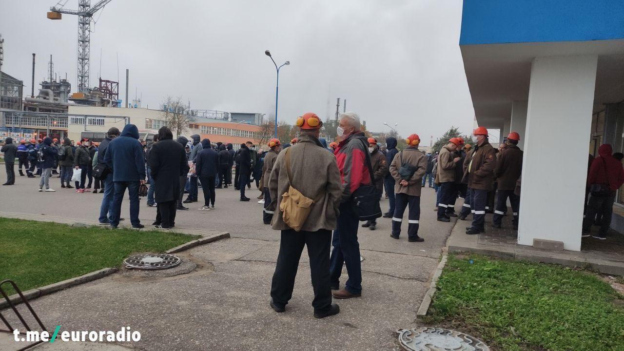 Участников общенациональной забастовки задержали на ...