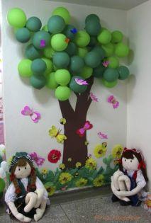 boom van ballonnen
