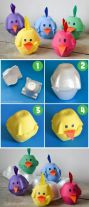 paaskuikentjes van eierdoosjes