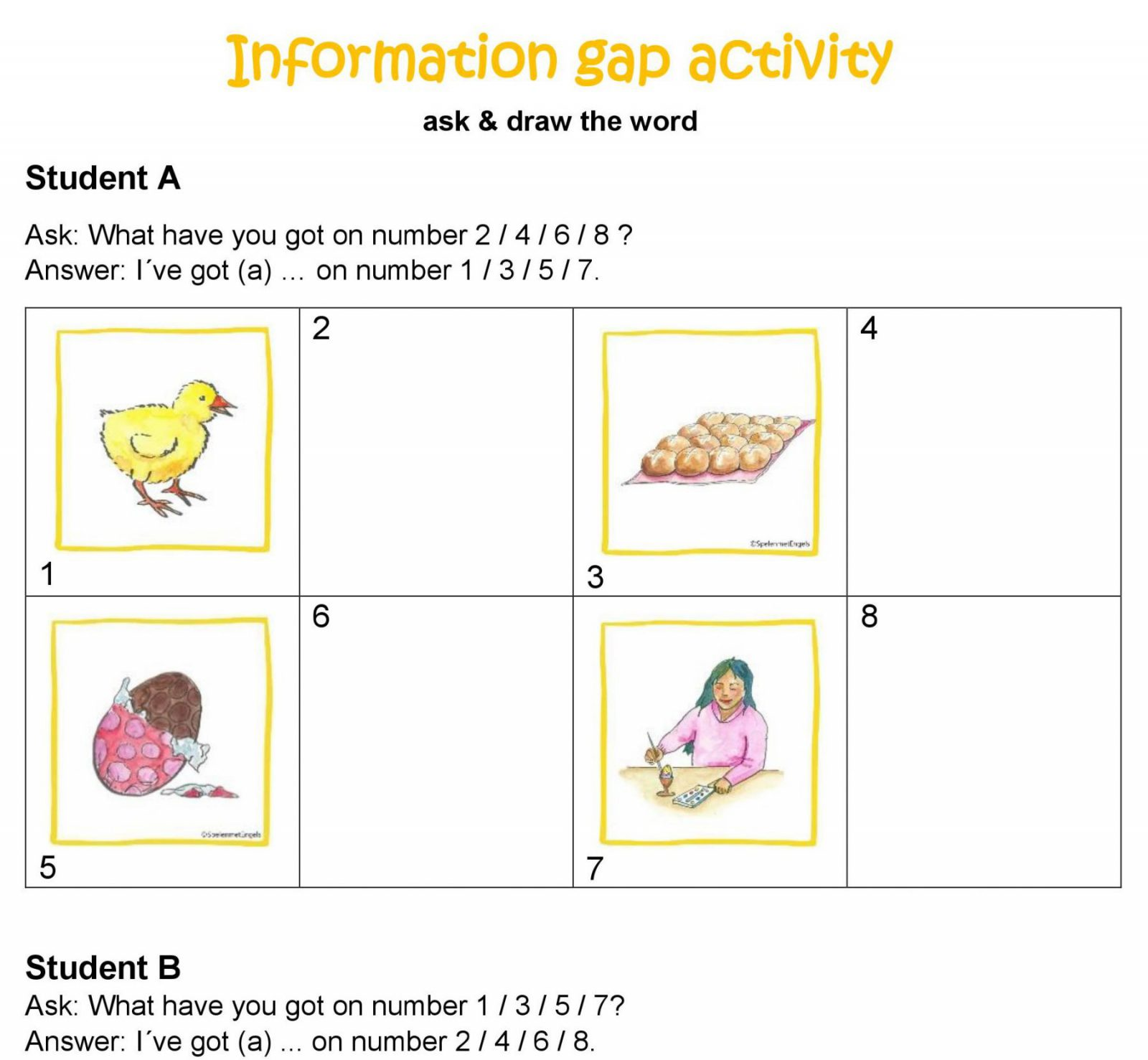 Worksheets Amp Activities Easter