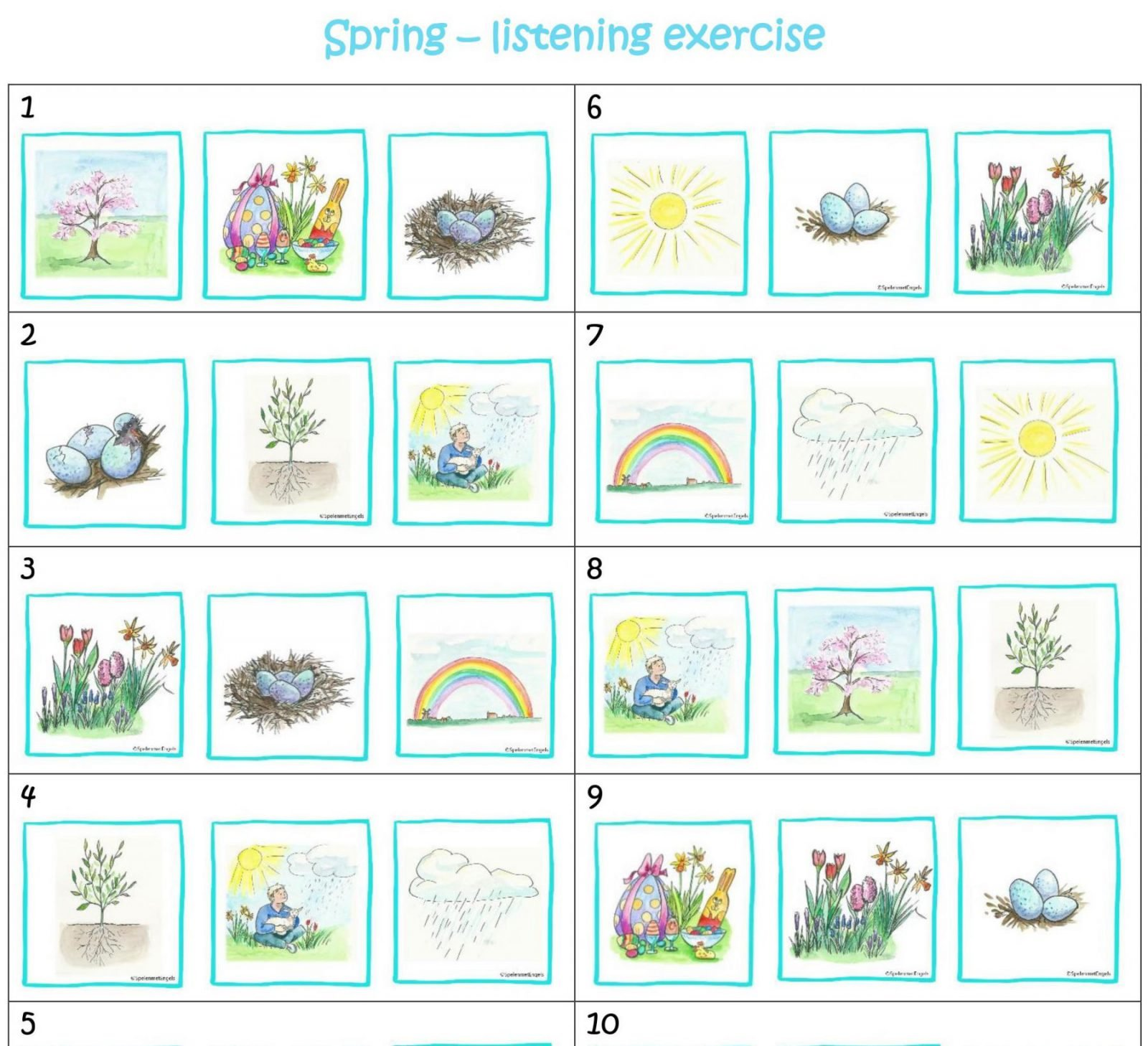 Worksheets Amp Activities Spring