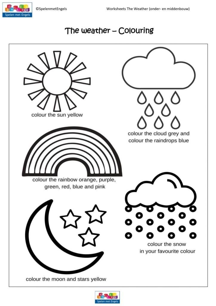 Worksheets The Weather Onderbouw