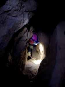 Grotte du Mont Verdun Désobstruction par Lionel