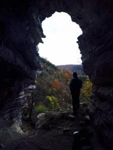 Grotte de Bruire Galerie supérieure