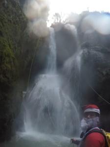 Première cascade 35m plein vide