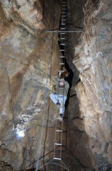skúška na rebríku