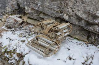 demontovaný rebrík po 30 rokoch