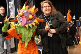 Mötte Skull Kid från Zelda-universat!