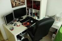Skrivbord.