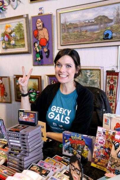 Heidi från Geeky Gals!
