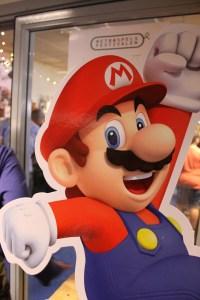 Men även en bit av Super Mario såklart.