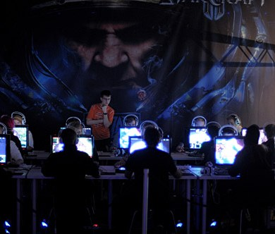 Dreamhack StarCraft 2 e-sportsturnering. Foto: Daniel Roos, Studio Motljus. www.motljus.nu
