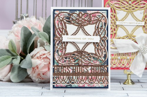 Happy Birthday Card - One Card Design 2 Ways by Yana Smakula for Spellbinders