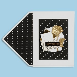 Spellbinders January 2018 Card Kit of the Month is Here!