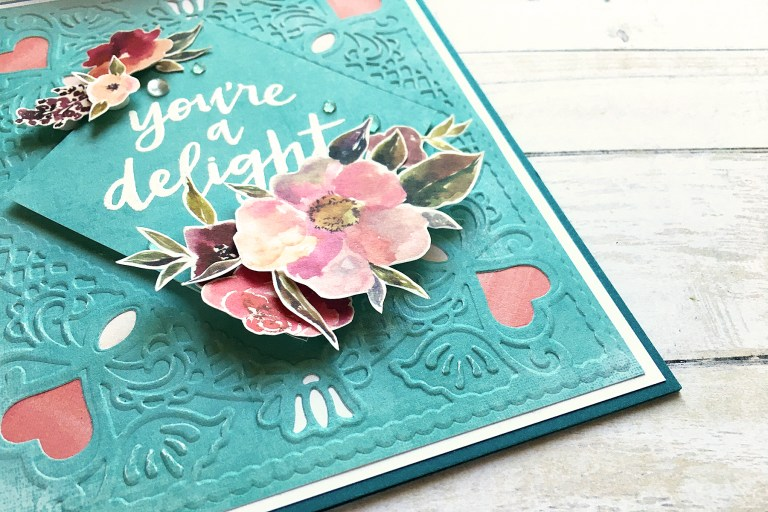 Spellbinders Cut & Emboss Folders Inspiration | Even More Everyday Cards With Enza featuring CEF-001 Diamond Lace Frame, CEF-010 Botanical Frame #spellbinders #neverstopmaking #embossing #handmade #cardmaking