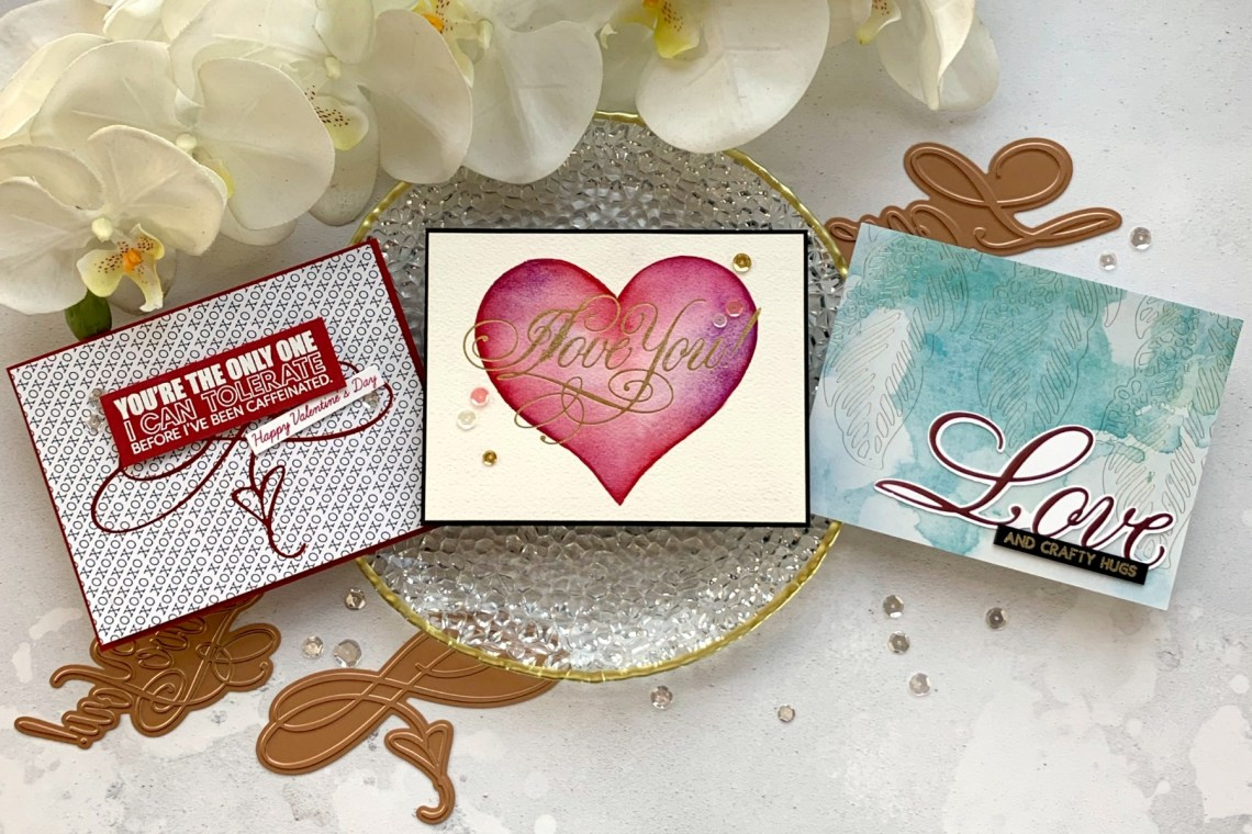 Paul Antonio Glimmer Plates Inspiration | Glamming Up With Glimmer Hot Foil with Janette Kausen for Spellbinders