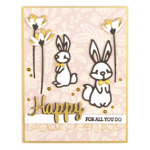 Spellbinders March 2019 Small Die of the Month is Here – Hop Into Spring