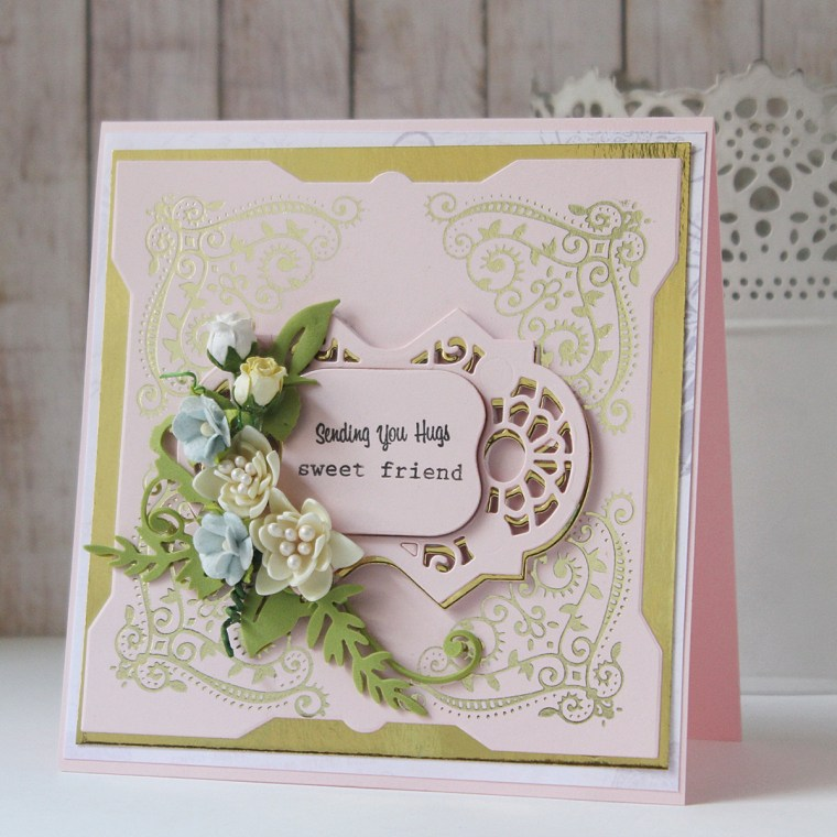 Glimmer Hot Foil Inspiration   Foiled Cards with Hussena Calcuttawala