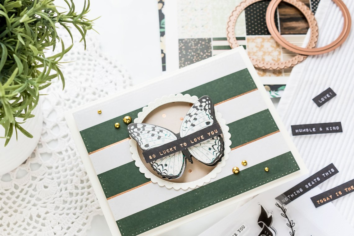 Spellbinders Card Club Kit Extras! May 2019 Edition - Stay Wild