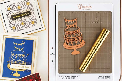 Glimmer Hot Foil Inspiration Roundup