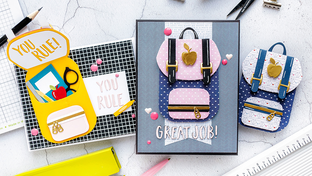 Spellbinders August 2019 Small Die of the Month is Here – Pack It Up