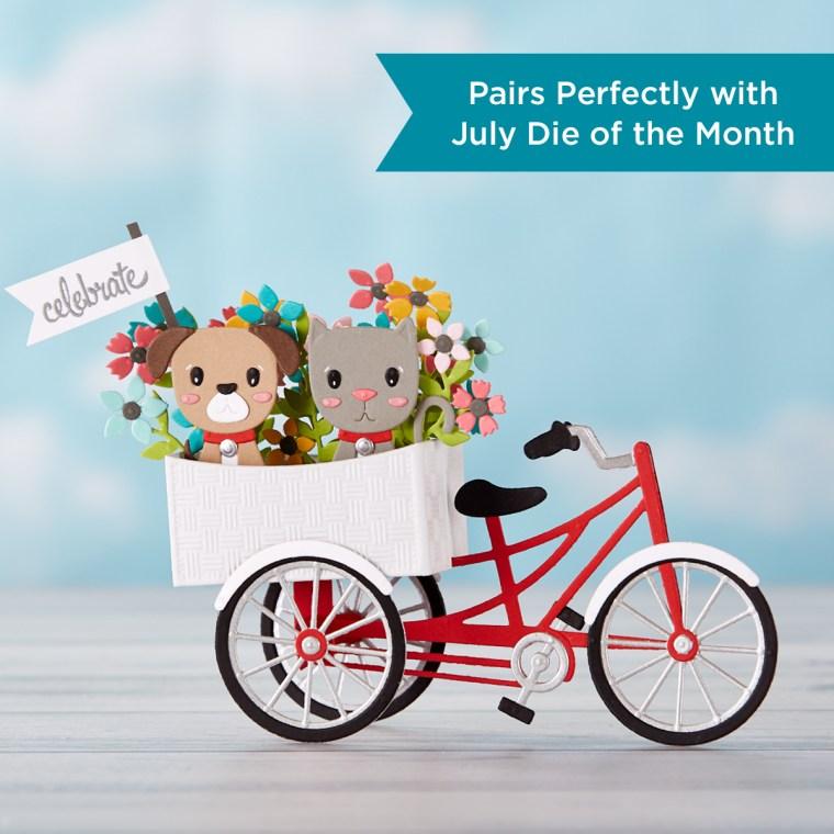 Spellbinders July 2019 Large Die of the Month is Here – 3D Fun Time Cruiser