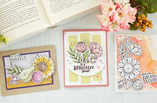 September 2019 Stamp of the Month is Here - Friendship Blessing