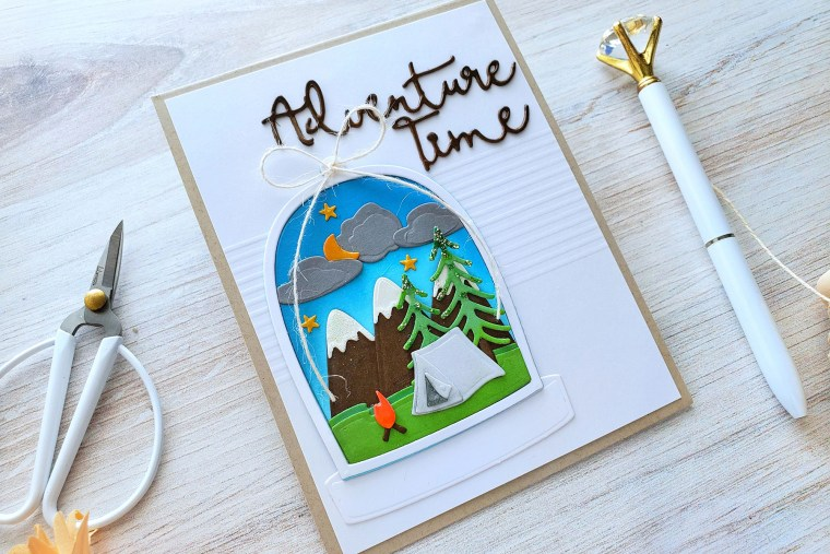 Spellbinders Scenic Snapshots Collection Inspiration   Greeting Cards by Yasmin Diaz