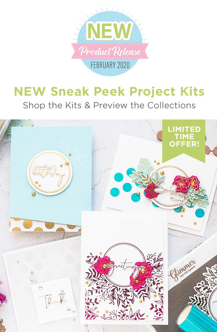 Spellbinders - Yana Smakula Foiled Basics Project Kit is Here!