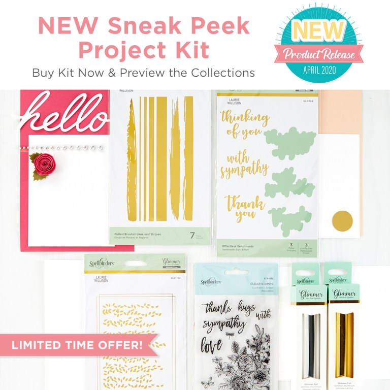 The Effortless Greetings Project Kit is Here!