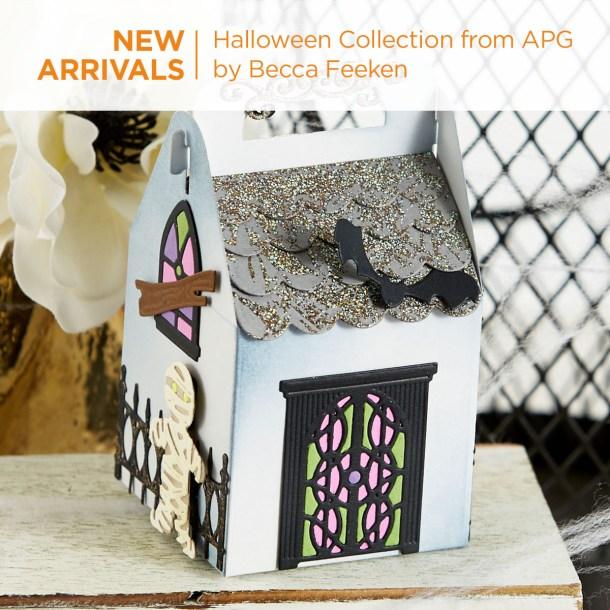 What's New   Halloween 2020 Collection by Becca Feeken for Spellbinders #Spellbinders #NeverStopMaking #DieCutting #Cardmaking #Halloween #AmazingPaperGrace