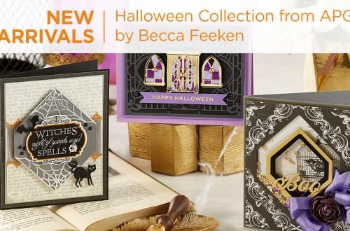 What's New | Halloween 2020 Collection by Becca Feeken for Spellbinders #Spellbinders #NeverStopMaking #DieCutting #Cardmaking #Halloween #AmazingPaperGrace