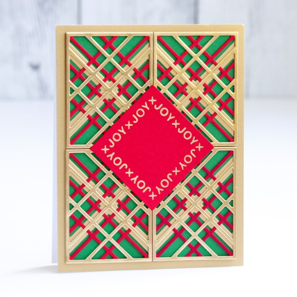 Spellbinders Sparkling Christmas Collection - Foiling and Die Cutting with Jean Manis #Spellbinders #NeverStopMaking #Christmascardmaking #Cardmaking