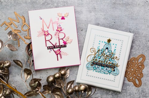 Spellbinders Sparkling Christmas 2020 Collection - Inspiration | Foiled Cardmaking Ideas with Jenny #Spellbinders #NeverStopMaking #GlimmerHotFoilSystem #Cardmaking #ChristmasCardmaking