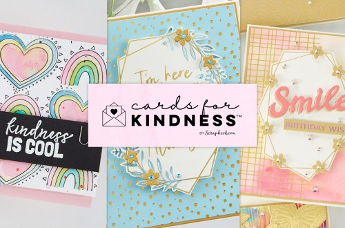 Spellbinders Cards for Kindness #spellbinders #Neverstopmaking #cardmaking