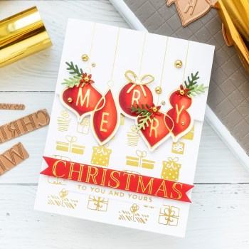 November 2020 Glimmer Hot Foil Kit of the Month is Here – Merry Christmas Wishes