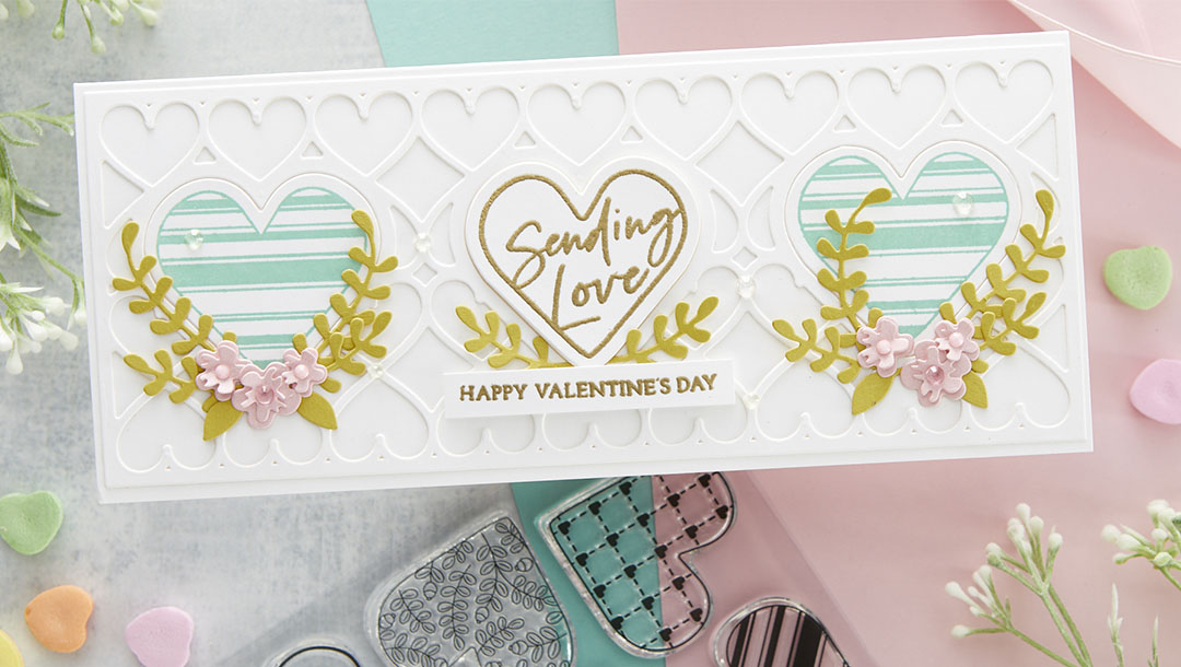 January 2021 Clear Stamp of the Month is Here – Sending Love