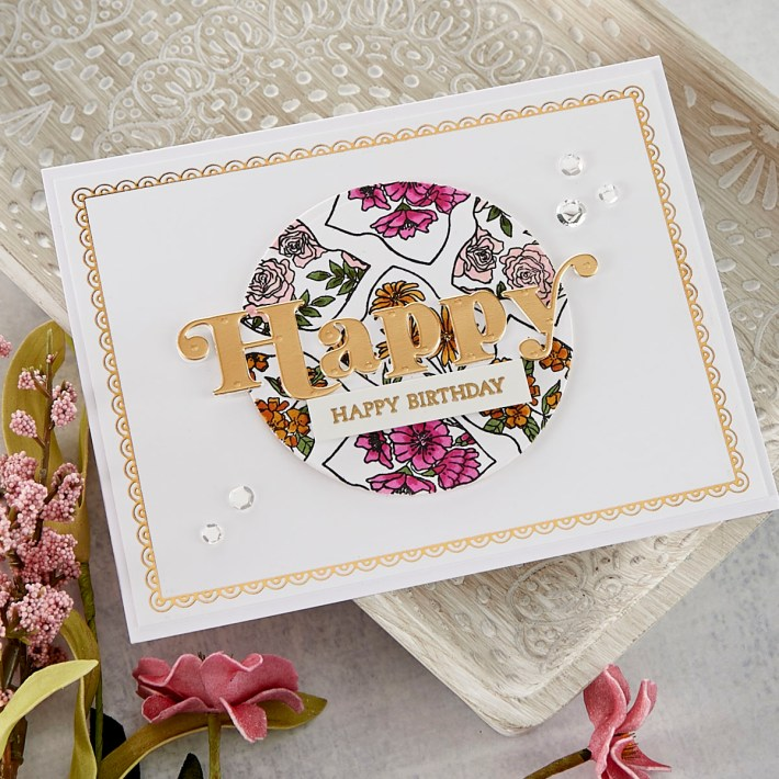 February 2021 Clear Stamp of the Month is Here – Trefoil Florals & Sentiments