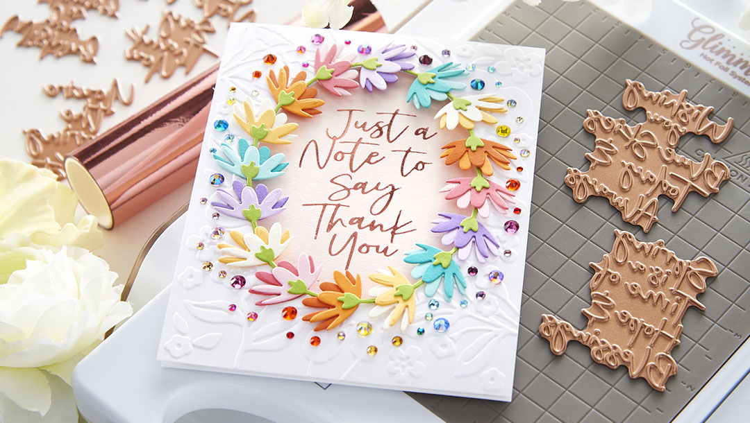 March 2021 Glimmer Hot Foil Kit of the Month is Here – Let Your Sentiments Shine Brighter
