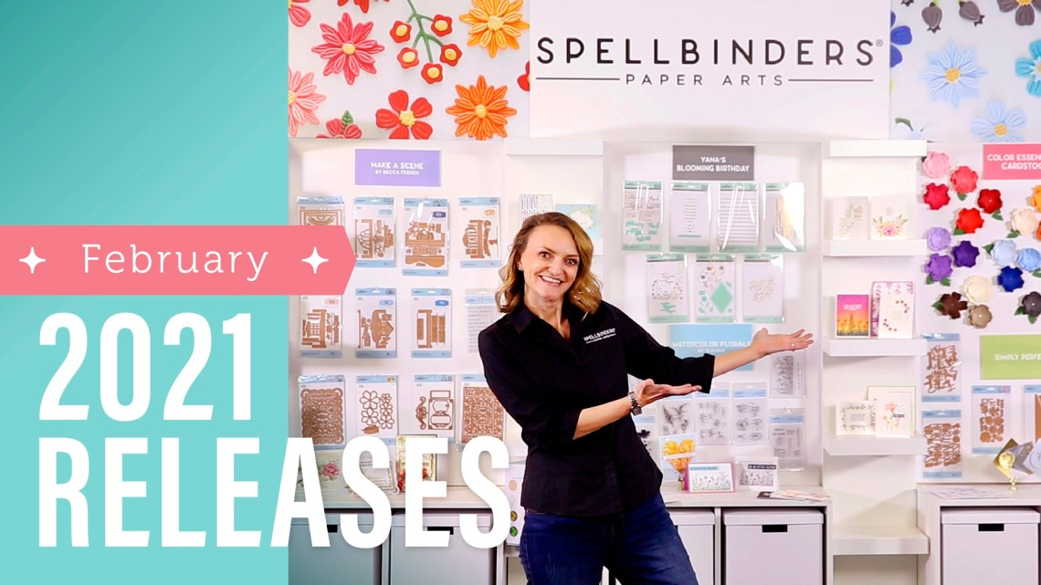 Spellbinders February'21 Release Party - Booth Tour & Collections Overview