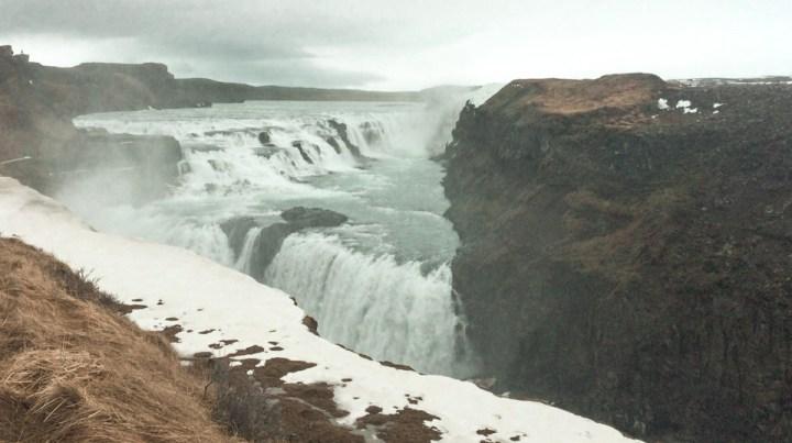 spellbound travels gullfoss waterfall iceland