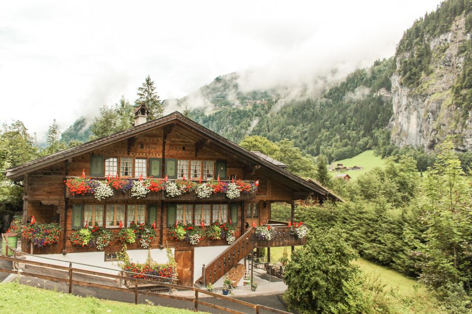 spellbound travels lauterbrunnen chalet