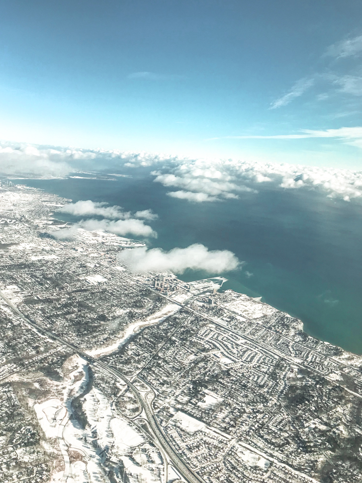 spellbound travels toronto view from plane