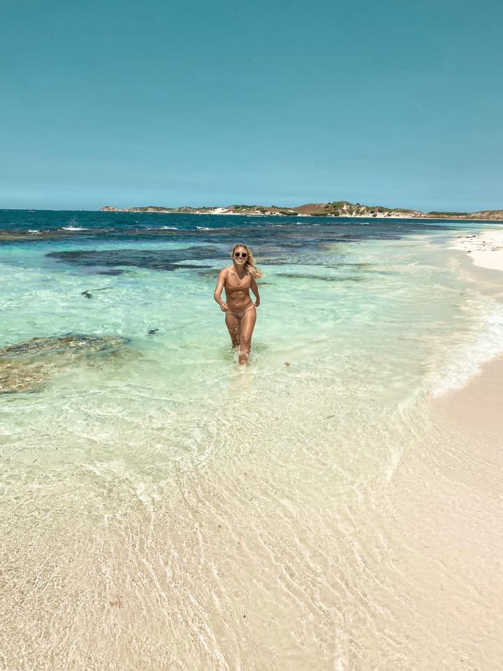 spellbound travels rottnest island beach girl