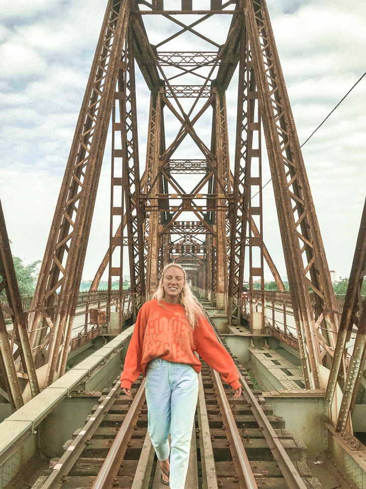 spellbound travels hanoi bridge