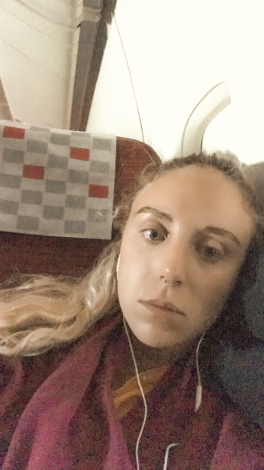 spellbound travels crying during flight