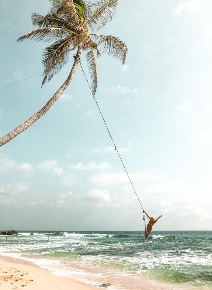 spellbound travels unawatuna rope swing sri lanka