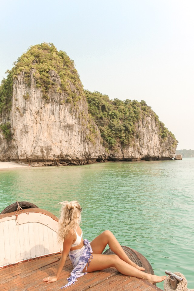 spellbound travels ha long bay boat tour
